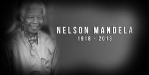 Farewell Nelson Mandela – [1918 – 2013 ]