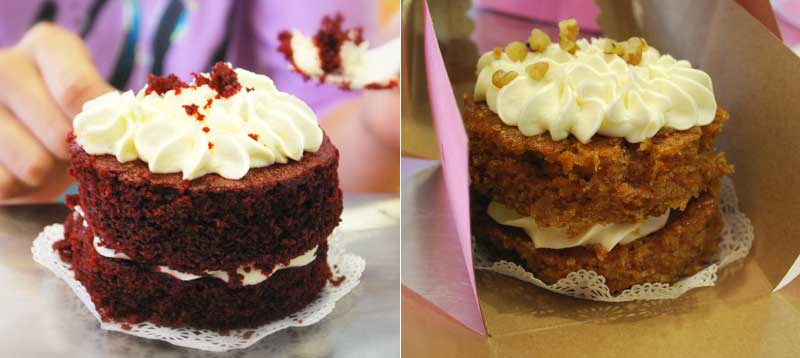 cakes from Adams Bakery, Milwaukee Public Market, Milwaukee, WI
