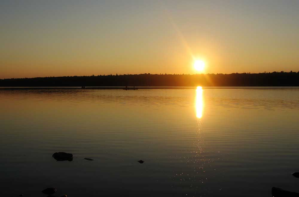 Sunset on Georgian Bay, Ontario, Canada