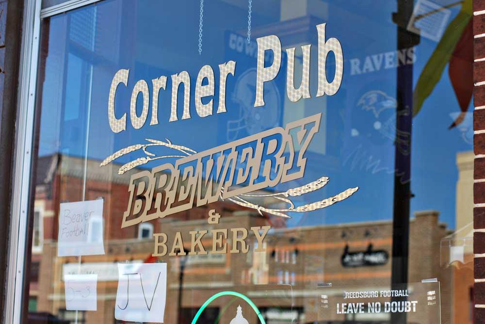 Corner Pub Brewery & Bakery, Reedsburg, WI