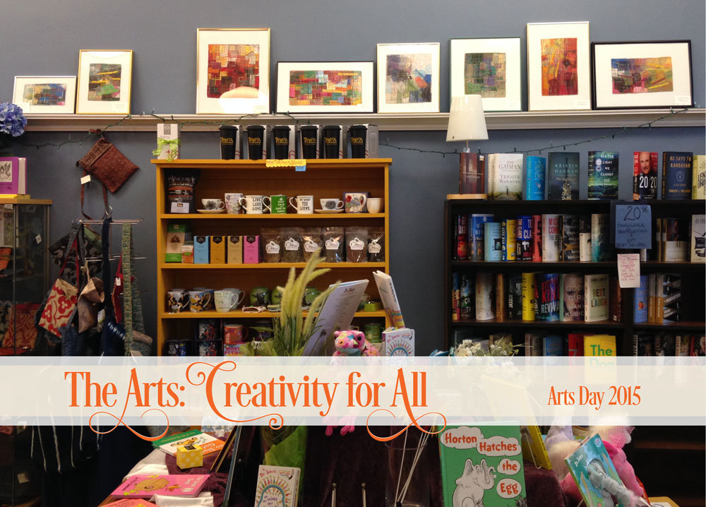 Arts Day 2015, Celebrating from Tribeca Gallery Cafe and Books