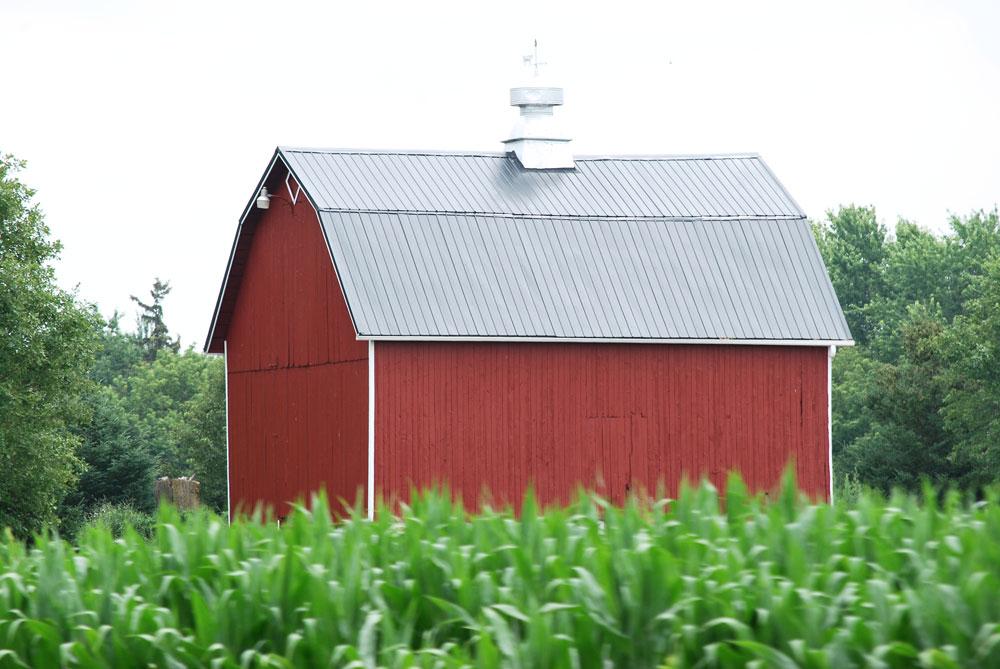 Small barn in Jefferson County, Wisconsin