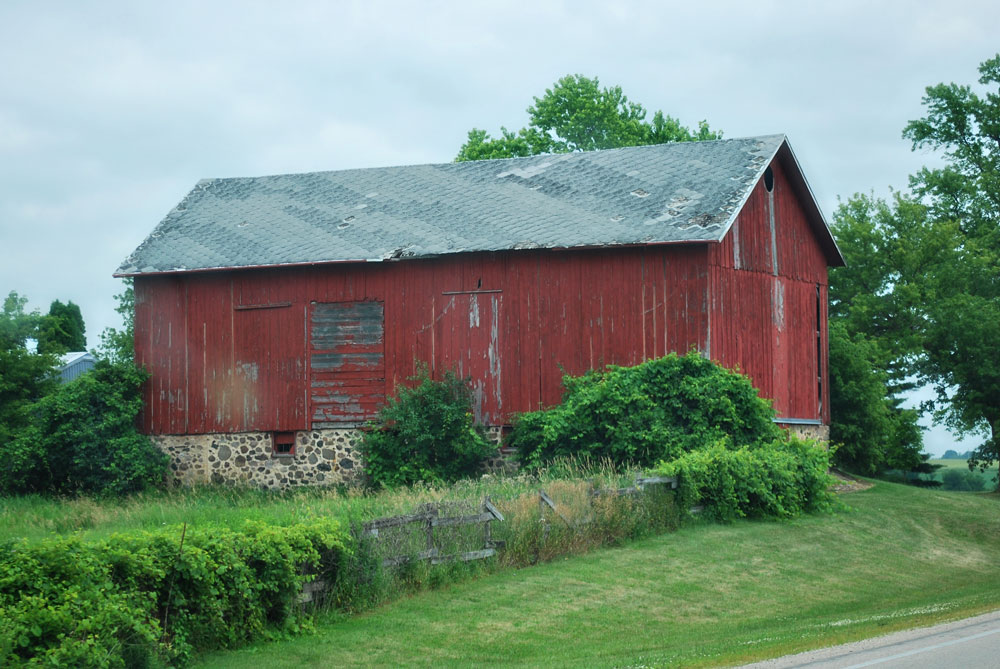Old Wisconsin dairy barn