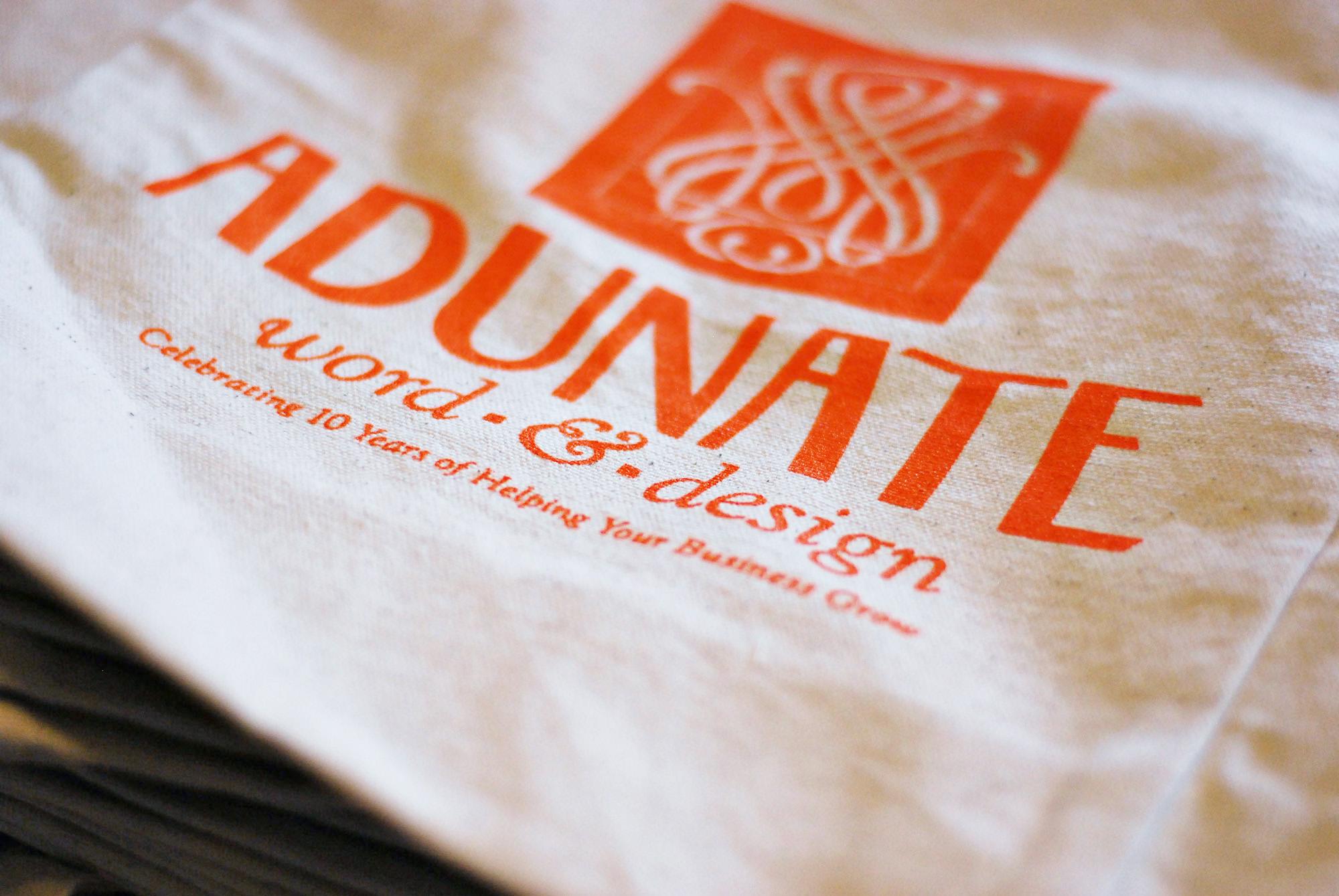 Adunate's cotton tote