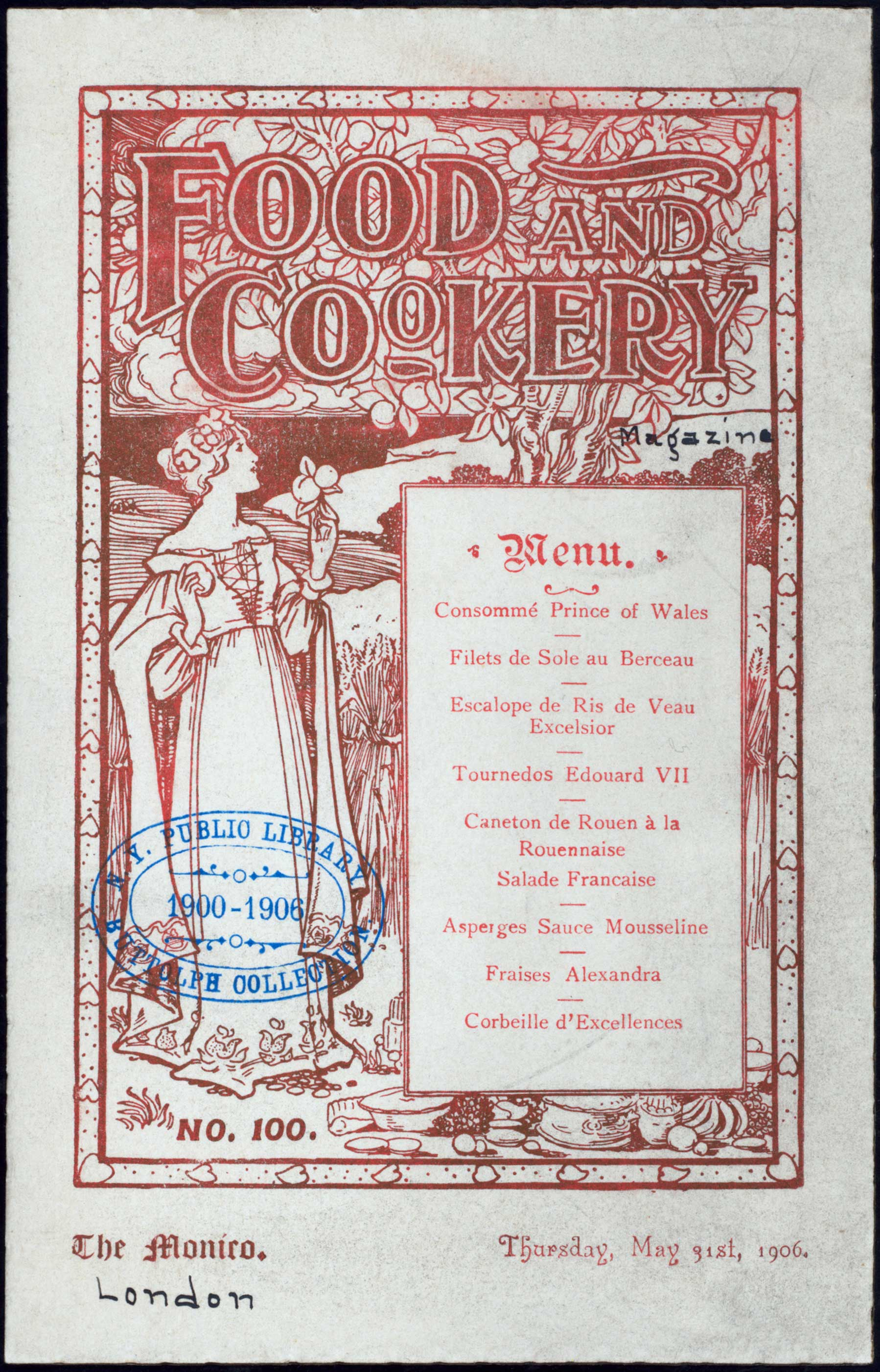 Dinner by Food and Cookery Magazine