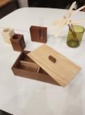 Vorratsbox Einzelstück und vasenhalter