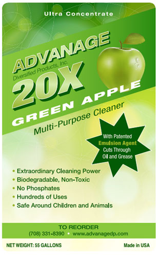 Green-Apple- Your source for eco cleaning products for the home.