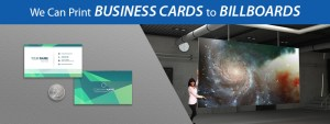 Business Cards to Billboards San Diego