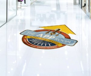 Floor Graphics Vinyl San Diego