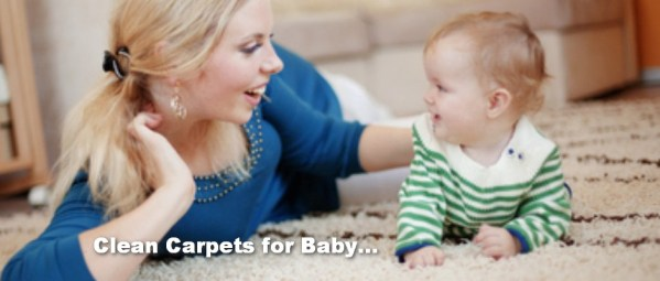 cleaner carpet for baby