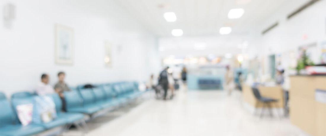 Há uma redução significativa para clinicas médicas