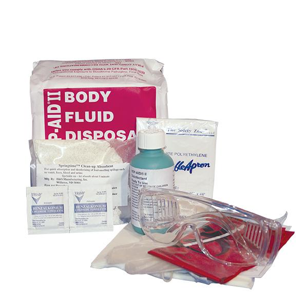Hep II Bodily Fluis Disposal