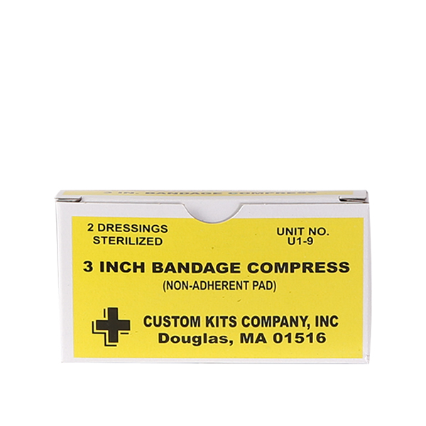 3 Inch Bandage Compress