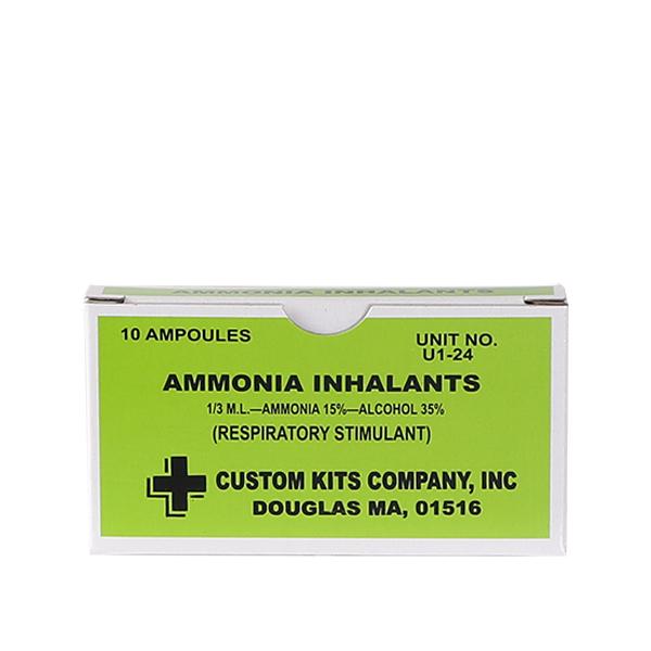 Ammonia Inhalents