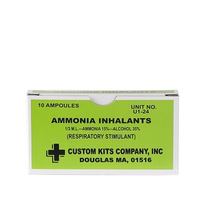 Ammonia Inhalents