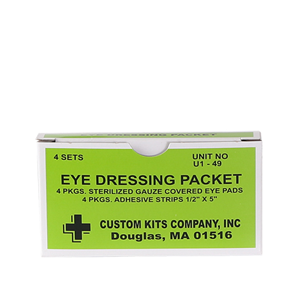 Eye Dressing Packets
