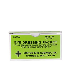 Eye Dressing Packets