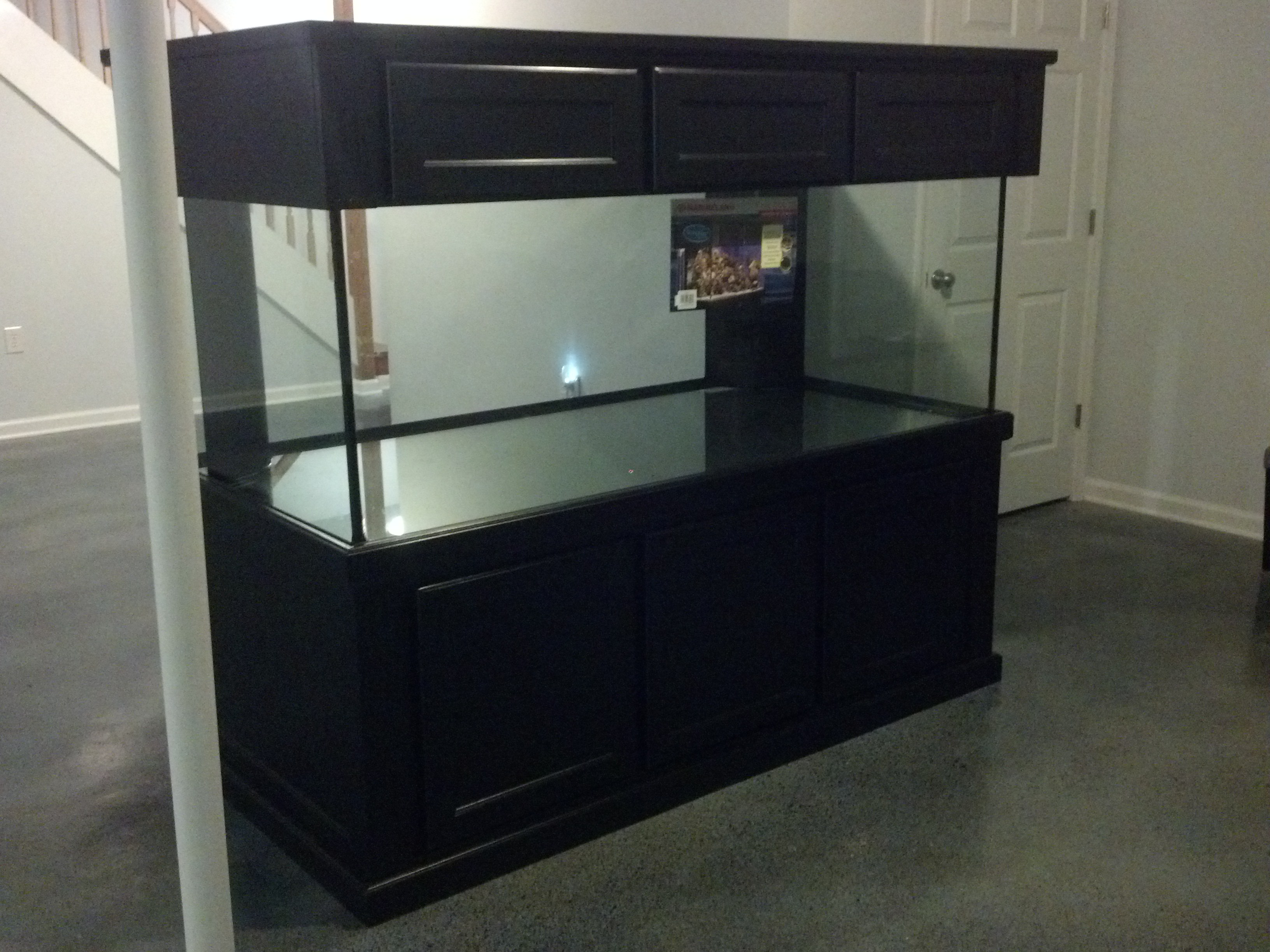 Marineland 300 gallon deep dimension tank and stand for 300 gallon fish tank