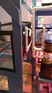 plumbing aquarium fish tank