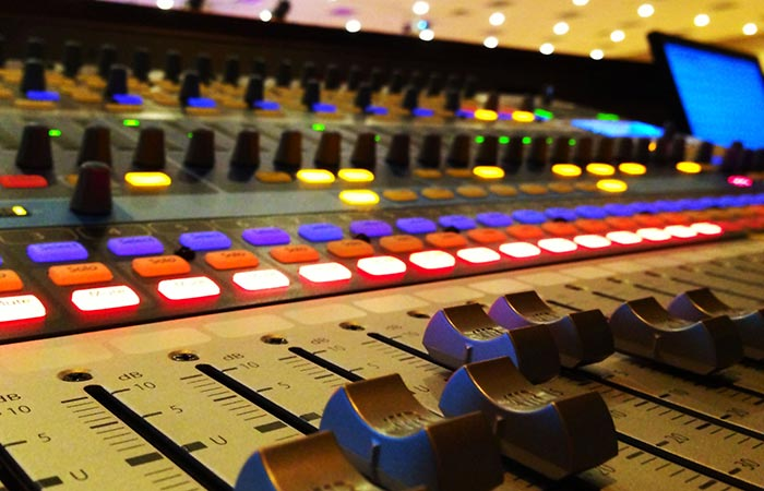 advanced audio and stage lighting