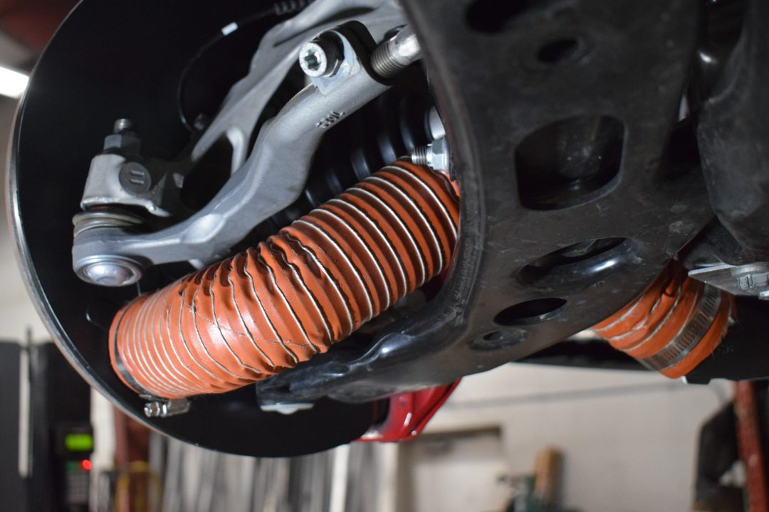 F56 front brake duct kit