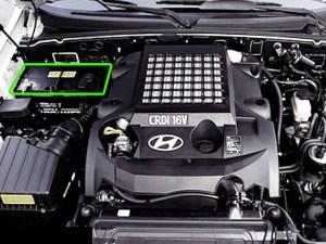 Hyundai Terracan Car Battery Location | ABS Batteries
