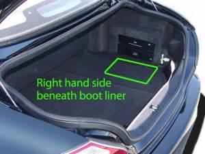 Jaguar XK Car Battery Location | ABS Batteries