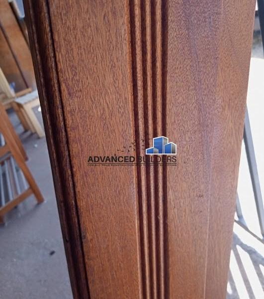 Mahogany Door Frame 8x2 With Vent