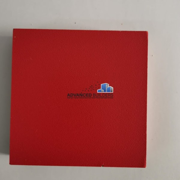Advanced Builders MDF Board 18 mm Red