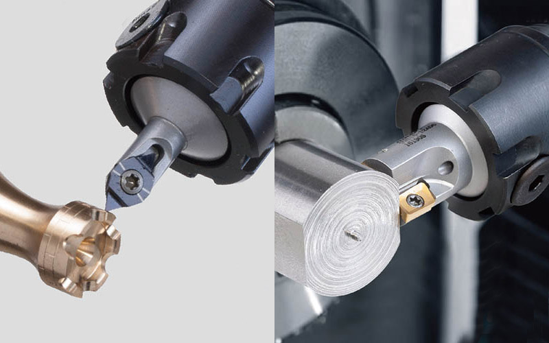 ERgo monoblock systems for Swiss type automatic lathe and CNC turning centres
