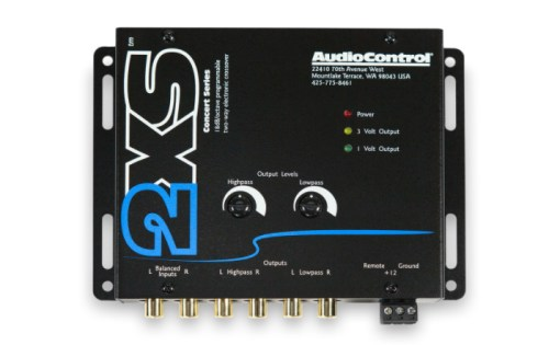 AUDIO CONTROL 2XS