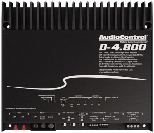 AUDIO CONTROL D-4.800