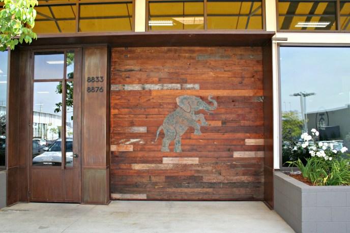 custom patina finish door
