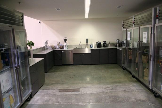 concrete floor polished