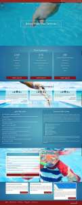 website design, crestview client pheonix pool services