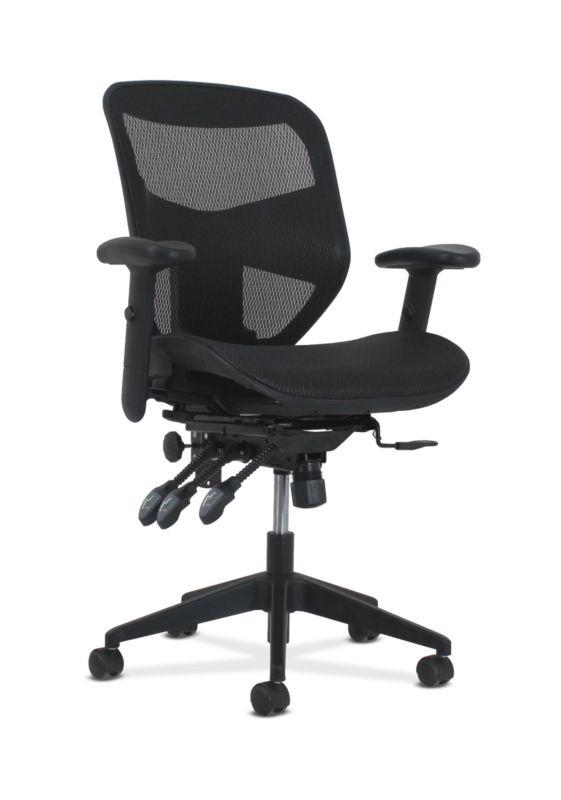 HON Prominent High-Back Task Chair | Asynchronous Tilt Control | Black Mesh