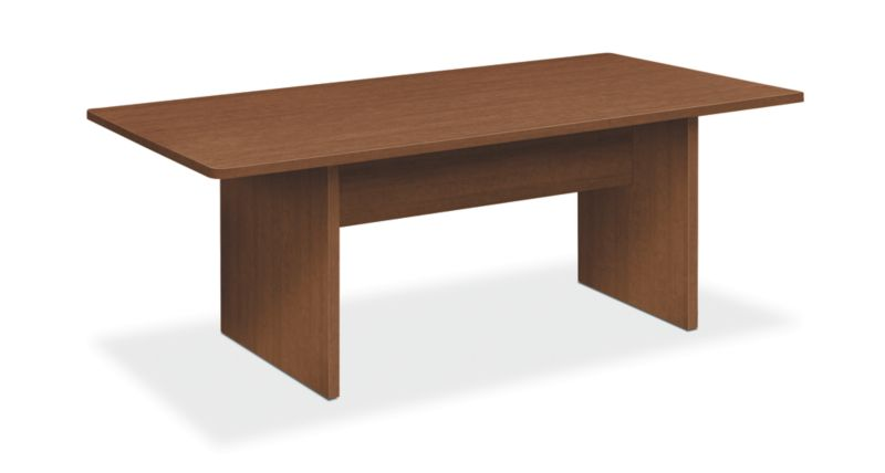 "HON Foundation Conference Table | Rectangle | Panel Base | 72""W 