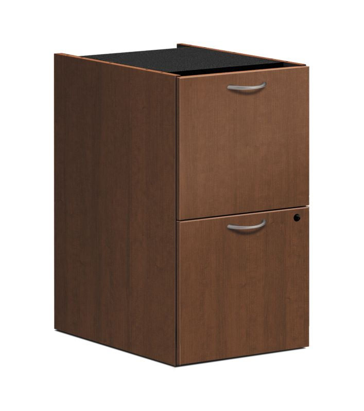 "HON Foundation Pedestal File | 2 File Drawers | 15-5/8""W 