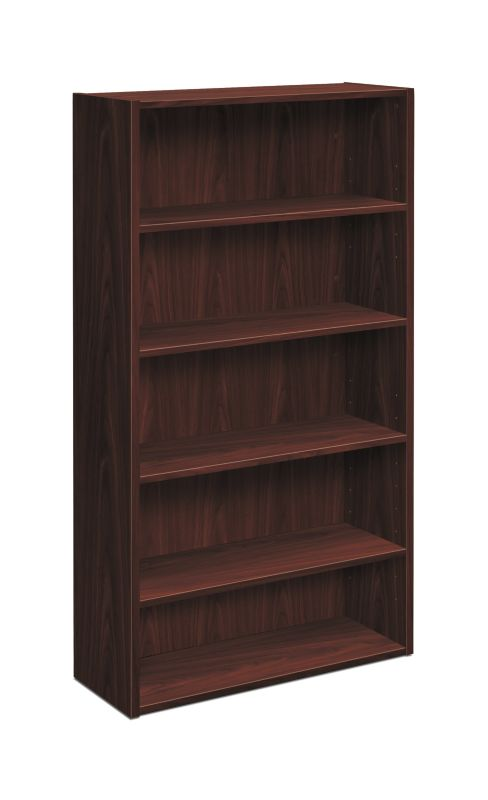 "HON Foundation Bookcase | 5 Shelves | 32""W 