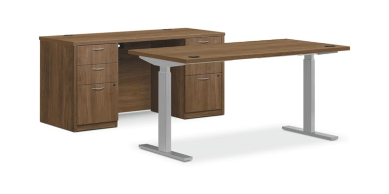 """HON Foundation Office Suite with Storage 