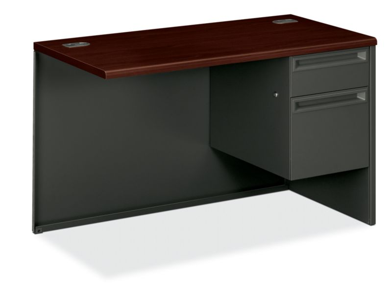 "HON 38000 Series Right Return | 1 Box / 1 File Drawer | 48""W 