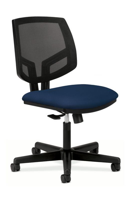 HON Volt Mesh Back Task Chair | Center-Tilt | Navy Fabric