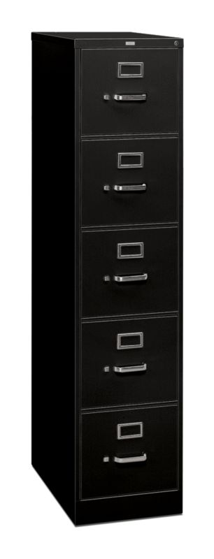 "HON 310 Series Vertical File | 5 Drawers | Letter Width | 15""W x 26-1/2""D 