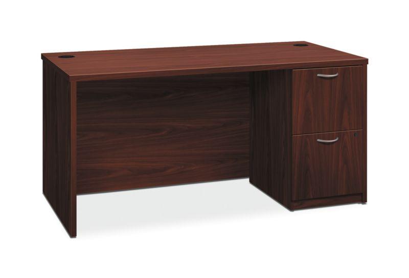 HON Foundation Single Pedestal Desk
