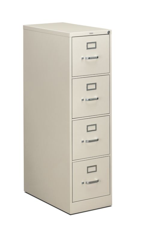 "HON 310 Series Vertical File | 4 Drawers | Letter Width | 15""W x 26-1/2""D 