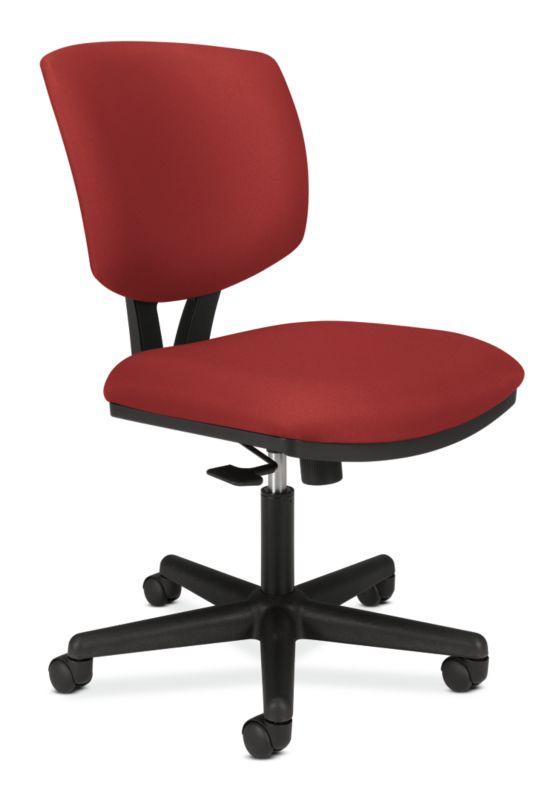 HON Volt Task Chair   Center-Tilt   Crimson Fabric