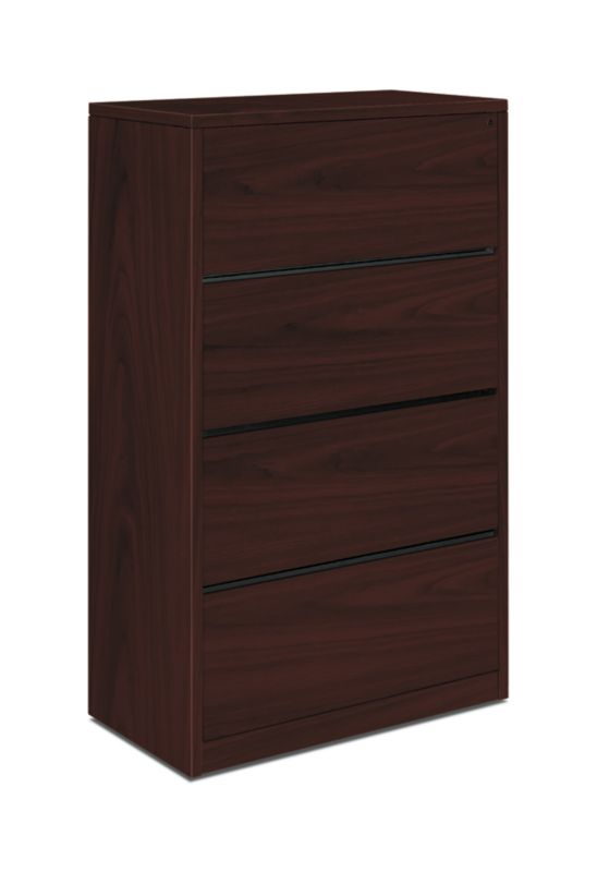 "HON 10500 Series Lateral File | 4 Drawers | 36""W 