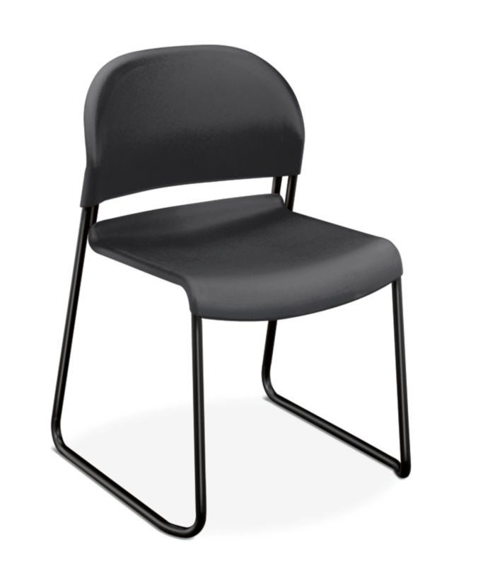 HON GuestStacker High-Density Stacking Chair | Lava Shell | 4 per Carton