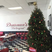 Dearman's before fire on a Christmas day