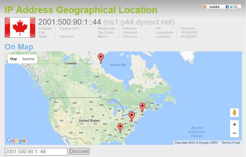Pornhub.com Geolocation based on IP